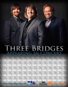 Three Bridges Concert Poster (2014) - 11x14